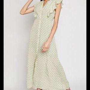 Hayden Maxi Polka Dot Dress